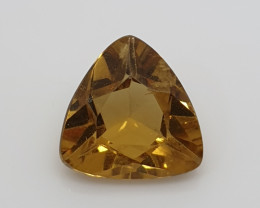 1.75  Ct Heliodor Trillion 8.7mm  From Brazil ( SKU 26)