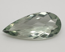 15 ct Prasiolite Tear  Drop 29.2x13.64mm Brazil (SKU 35)