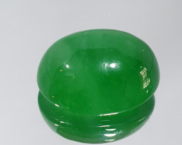 19.7ct Jade Cabochon 17.6x13.6mm ( SKU 28)
