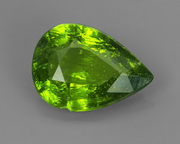 2.00Cts Natural Beautiful Green Sphene pear Shape~