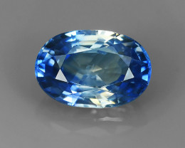 1.25 CTS EXCELLENT NATURAL SAPPHIRE ULTRA RARE OVAL BLUE