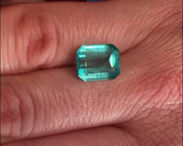 4,71ct Colombian Emerald Ref 14/76