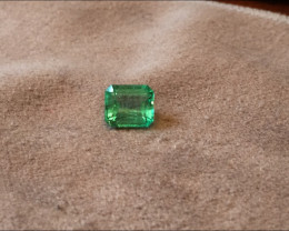 3,94ct Colombian Emerald Ref 15/76