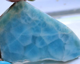 178.85 CTS QUALITY LARIMAR ROUGH RG-3695