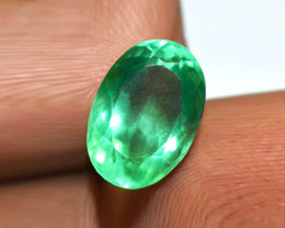 1.74 ct Beautiful Emerald Certified!