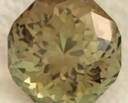 Stunning Designer Cut Luminous 11.32 ct Yellowish Green Tourmaline - Nigeri