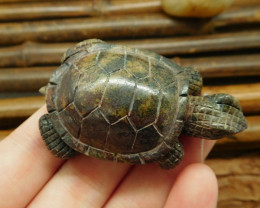 New arrival carved tortoise pendant bead wholesale stone bead (G0301)