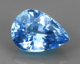 1.00 CTS NATURAL!  BLUE MADAGASCAR SAPPHIRE PEAR~