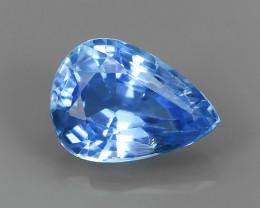 NATURAL! BLUE MADAGASCAR SAPPHIRE PEAR~