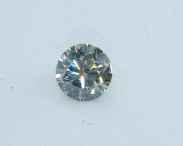 0.40ct  Light Green Diamond , 100% Natural Untreated