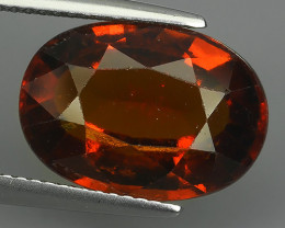 9.00 Cts Awesome 100% UNHEATED Natural Srilankan Hessonite Garnet!!