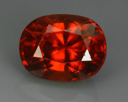 9.30 Cts Awesome 100% UNHEATED Natural Srilankan Hessonite Garnet!!
