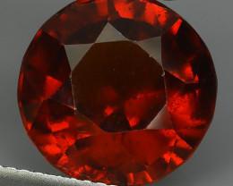 8.80 Cts Natural Reddish Orange Hessonite Garnet Round Cut Beautiful!!