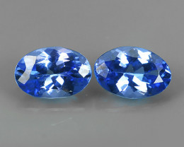 0.95 CTS GLITTERING LUSTER  COLLECTORS GEM NATURAL TANZANITE NR!