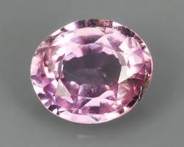 EXECLLENT!!!Natural Heated  Pink sapphire Sri lanka Beautiful~