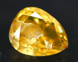 0.62Ct Fancy Yellow Natural Diamond A2710