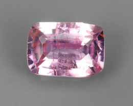 CERTIFIED 0.72 CTS NATURAL UNHEATED PADPARADSCHA SAPPHIRE RARE GEM