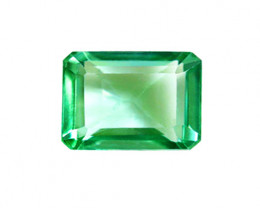 1.03 ct Gorgeous Top Of The Line Zambian Emerald Certified!