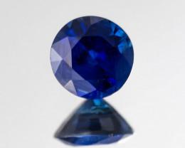 Sapphire 5 mm 0.71 ct  Sri Lanka GPC Lab