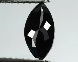0.68 Cts Natural Coal Black Diamond Fancy Marquise Cut Africa