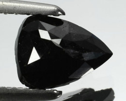 1.18 Cts Natural Coal Black Diamond Fancy Pear Cut Africa