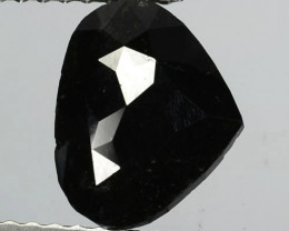 1.79 Cts Natural Coal Black Diamond Fancy Pear Cut Africa