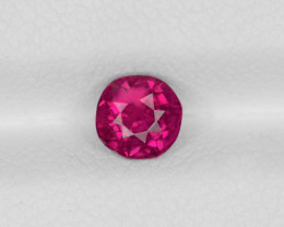 Ruby, 0.88ct - Mined in Burma | Certified by IGI