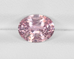 Padparadscha Sapphire, 2.01ct - Mined in Madagascar | Certified by IGI