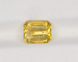 Yellow Sapphire, 2.25ct - Mined in Sri Lanka | Certified by IGI