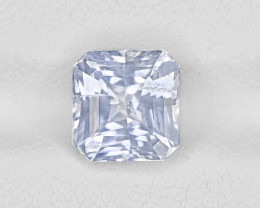 Colorless Sapphire, 3.35ct - Mined in Kashmir | Certified by GRS