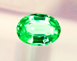 2.19 ct Gorgeous Emerald Certified. Top Colombian Stone!