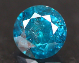 0.91Ct Fancy Vivid Titanic Blue Natural Diamond A2806