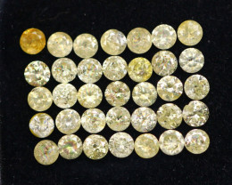 2.12Ct Fancy Yellow Natural Diamond Lot A2810