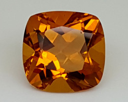 9.75Crt Madeira Citrine  Natural Gemstones JI37