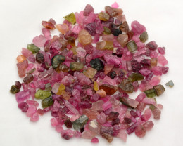200 Cts Multi Colour Rough Tourmaline @Africa