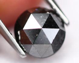 1.87Ct Fancy Black Rose Cut Natural Diamond A2911