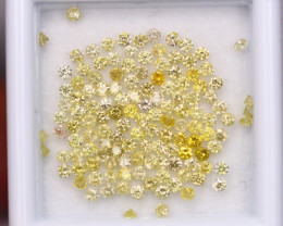 2.10Ct Natural Yellow Fancy Diamond B2901