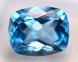 6.67Ct Swiss Blue Topaz Cushion Cut Lot LZ2520