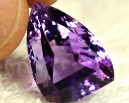 21.07 Carat Brazilian Purple VVS Amethyst Beauty