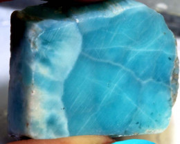 86.80 CTS QUALITY LARIMAR ROUGH RG-3768