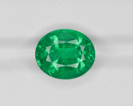 Emerald, 7.28ct - Mined in Ethiopia   Certified by GRS