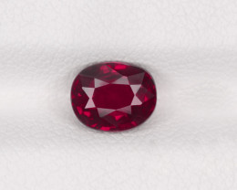 Ruby, 1.09ct - Mined in Madagascar | Certified by IGI
