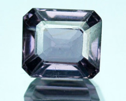 0.90Ct  Untreated Natural Purple  Spinel Octagon Srilanka