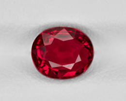 Ruby, 2.03ct - Mined in Mozambique | Certified by GRS