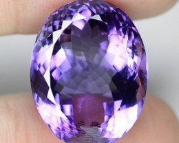 23.67 Cts AMAZING RARE PURPLE PINK AMETHYST LOOSE GEMSTONE