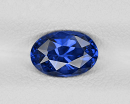Blue Sapphire, 1.27ct - Mined in Madagascar | Certified by GRS