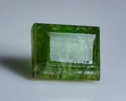 2 Cts Beautiful, Superb  Green Tourmaline Gemstone
