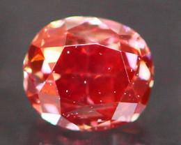 0.13Ct Fancy Purplish Red Natural Diamond A3004