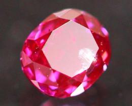 0.13Ct Fancy Purplish Red Natural Diamond E3004