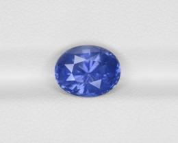Blue Sapphire, 3.10ct - Mined in Sri Lanka | Certified by GRS
